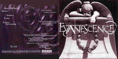 evanescence fallen tracklist